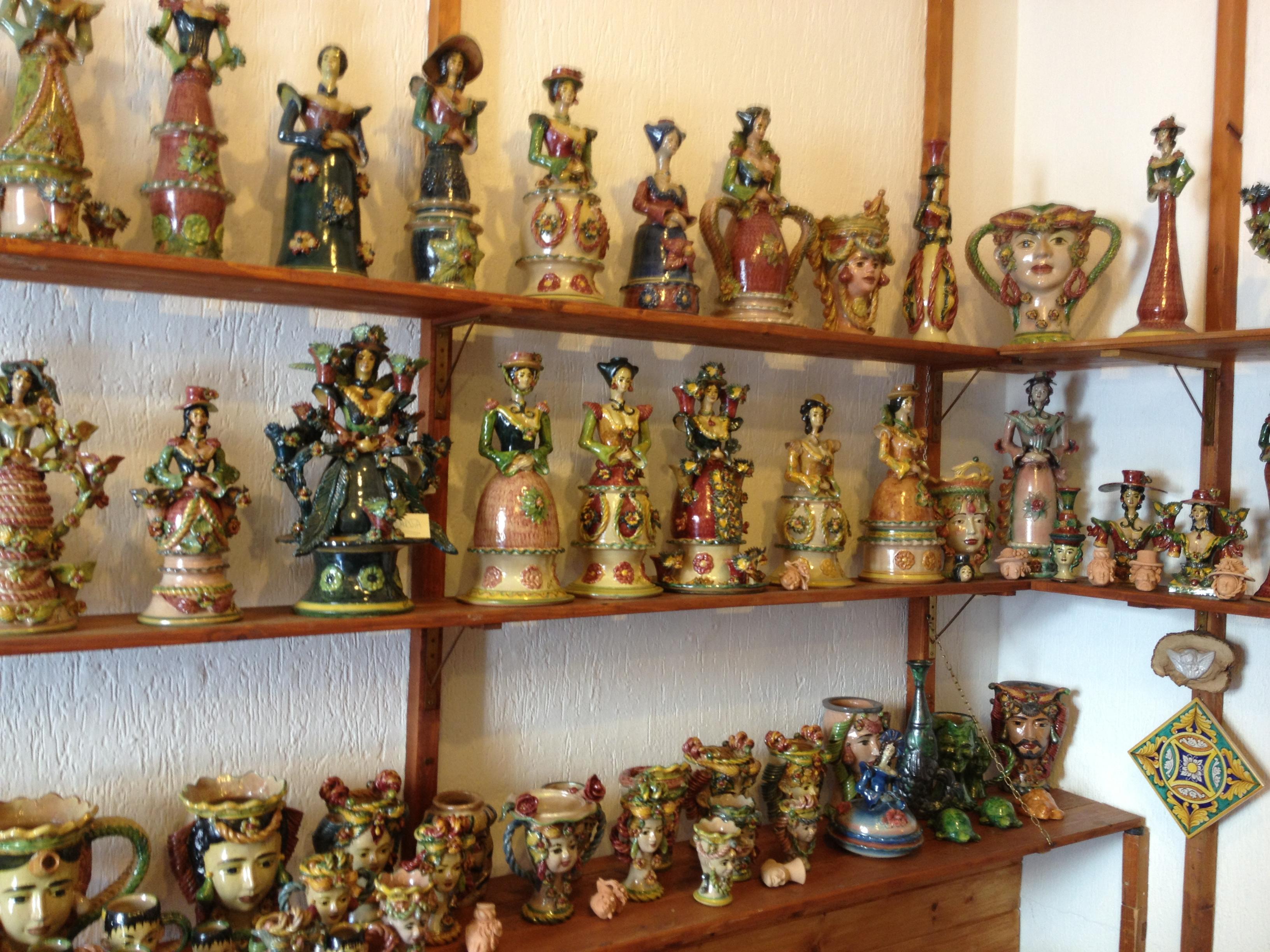 ceramica Santo Stefano di Camastra