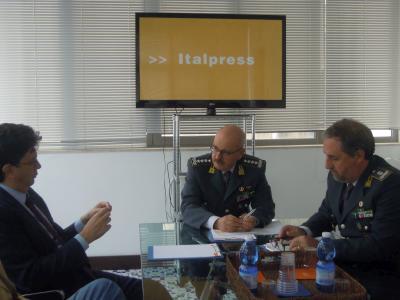 Italpress, Guardia di finanza, Ignazio Gibilaro, Gaspare Borsellino