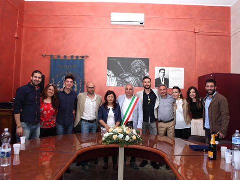 foto di gruppo Nino Baglio