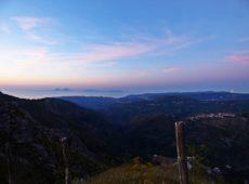 Il panorama (sullo sfondo le Eolie)