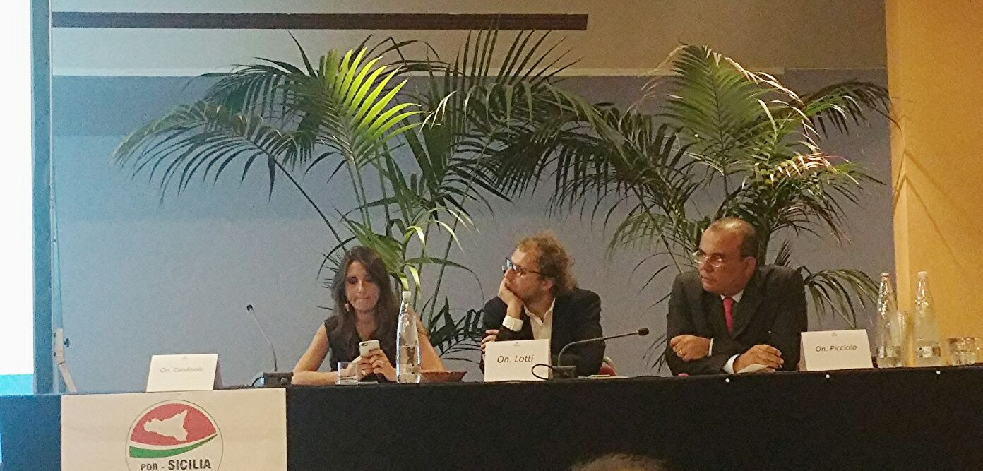 SICILIAFUTURA NAXOS - Daniela Cardinale, Luca Lotti, Beppe Picciolo