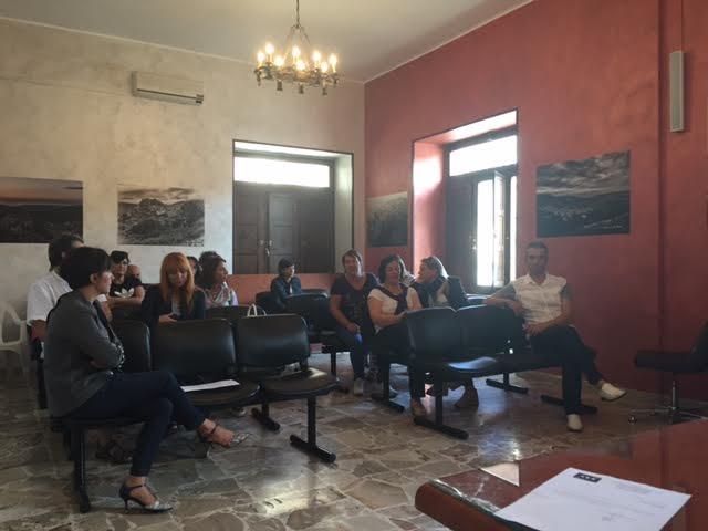 L'assemblea dei precari a Galati Mamertino