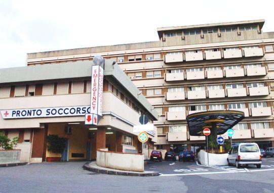 WCENTER 0XLHBGSFHH                Una immagine di archivio del Policlinico di Messina. ANSA