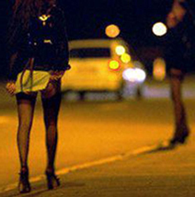 video prostitute per strada