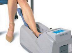 ultrasonografia ossea al calcagno-immagine di repertorio