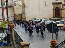 visita a Cesarò dell'IC Brancati di Catania
