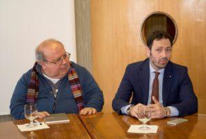 Don Silvio Rotondo e Razza visita Oasi Troina