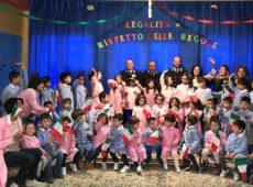 """I bambini del plesso """"G. Verga"""" di Cerami sono stati protagonisti di una lezione di Legalità insieme all'Arma dei Carabinieri."""