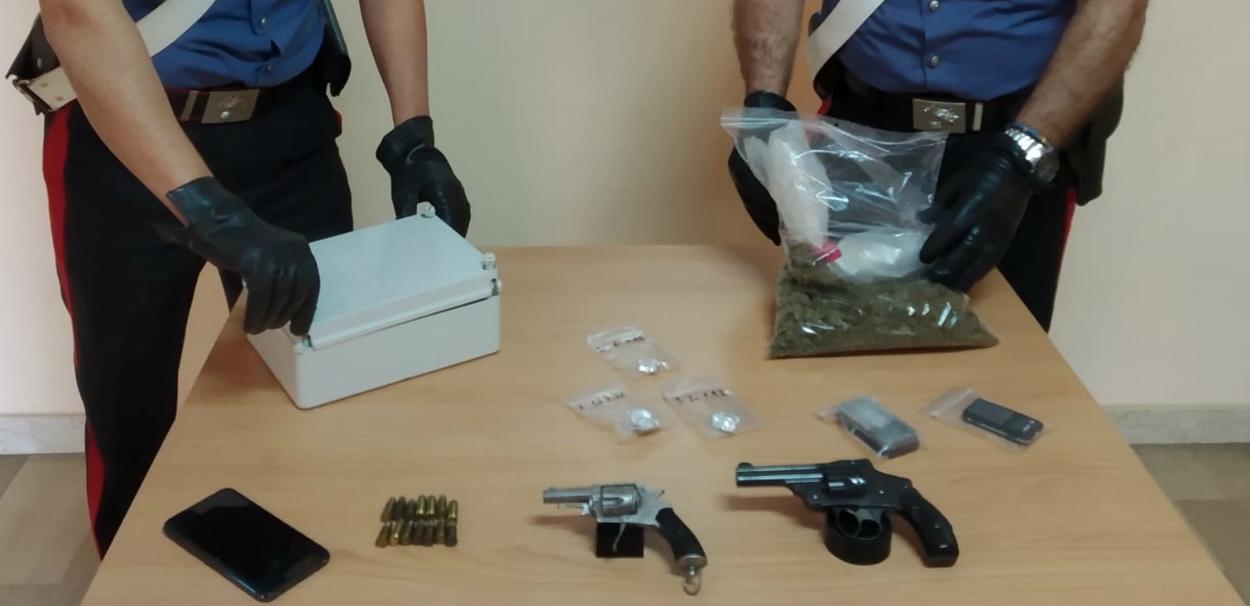 Armi e droga in casa, 32enne arrestato a Messina